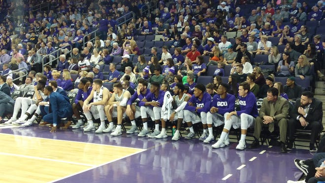 The crowd at a Grand Canyon game during their game vs. UC Riverside.