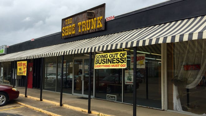 The Shoe Trunk is closing this month after 45 years in business.