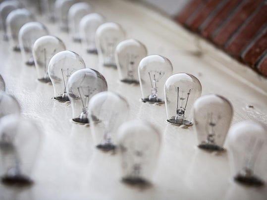 Muncie Civic Theatre marquee light bulbs.jpg