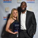 Benton's Jillian Maxwell wins Ambassador Award at Sports Awards