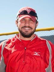 Michael DeAngelo, Fannett-Metal softball coach