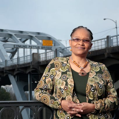 Lynda Blackmon Lowery marched with Martin Luther King