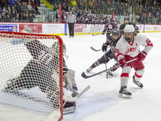 Union sweeps Cornell out of the ECAC Hockey playoffs
