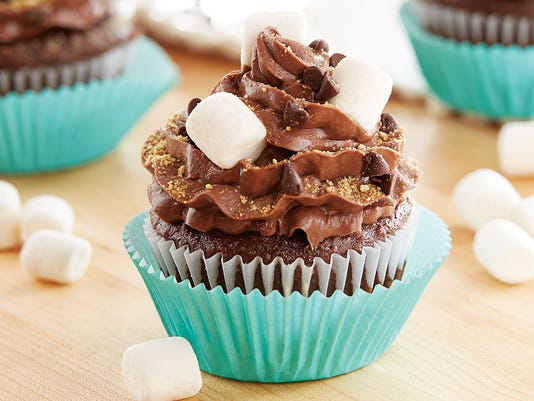 Peanut Butter S'more Cupcake