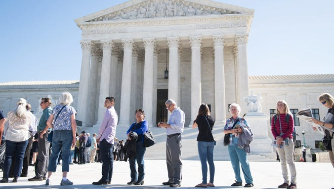 The Supreme Court appeared likely Wednesday to rule that police must get warrants to  search through months of cellphone location data.