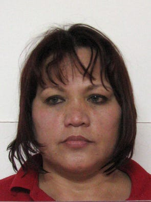 Vera Marie Ulloa Del Rosario is shown in her booking