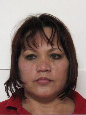Vera Marie Ulloa Del Rosario is shown in her booking