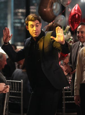 Josh Wolk's past as a Detroit Bar Mitzvah emcee comes back to bite him (and his character) in this week's episode of 'The Crazy Ones.'