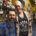 Howard Wasserman, owner of Curiosities in Old Town, has found the need to redefine his role in the business he has owned for two decades due to physical challenges from multiple sclerosis.