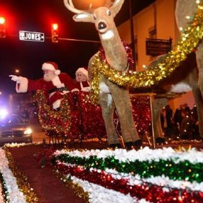 This year's Fountain Inn Christmas Parade is scheduled