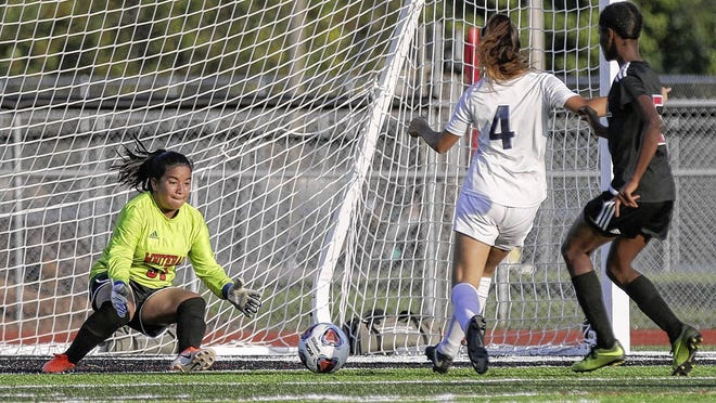 Junior Dalia Matute is among the top returnees for the Whitehall-Yearling girls soccer team, which hopes to improve on last year's 3-12-1 record. Matute is playing at defender this season after seeing time in goal a year ago.
