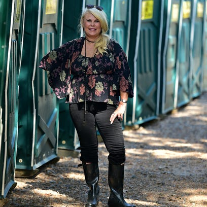 This woman has cornered the porta-potty market in central Miss.