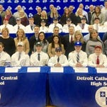 Catholic Central sending 19 athletes to collegiate ranks