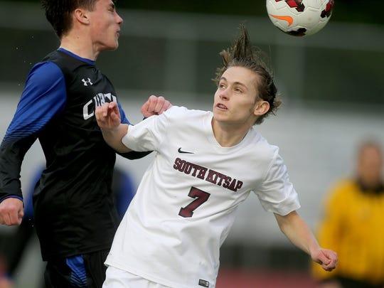 South Kitsap soccer player Grant Larson scored goals in 12 of the team's 16 games during the regular season.