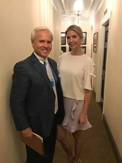 Perry Hooper Jr., a former state representative and a current member of the State Republican Executive Committee, met with Senior Presidential Advisor Ivanka Trump and other officials last week in Washington, D.C.