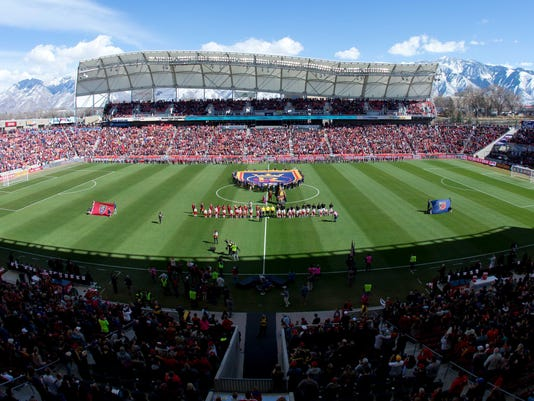 USP MLS: LOS ANGELES FC AT REAL SALT LAKE S SOC RSL LAF USA UT