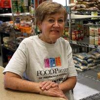 Faithful volunteer: Delafield's Pat Castelli volunteers at Food Pantry of Waukesha County