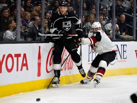 NHL: Arizona Coyotes at Los Angeles Kings
