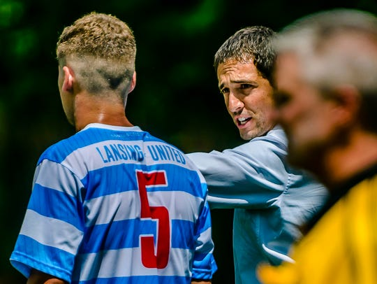 In three seasons as Lansing United's head coach and general manager, Nate Miller went 20-13-12.