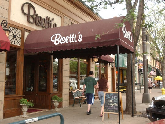 Bisetti's Ristorante is booked through its closing