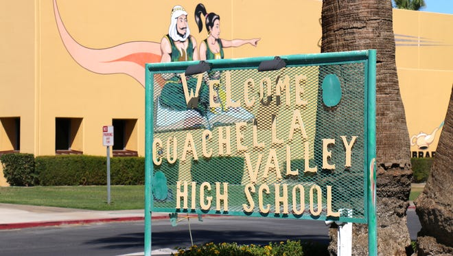 Coachella Valley High School is momentarily transformed, starting Nov. 28, into Santa's Workshop as faculty, staff, students and other community members participate in a program to help families in need during the holidays.