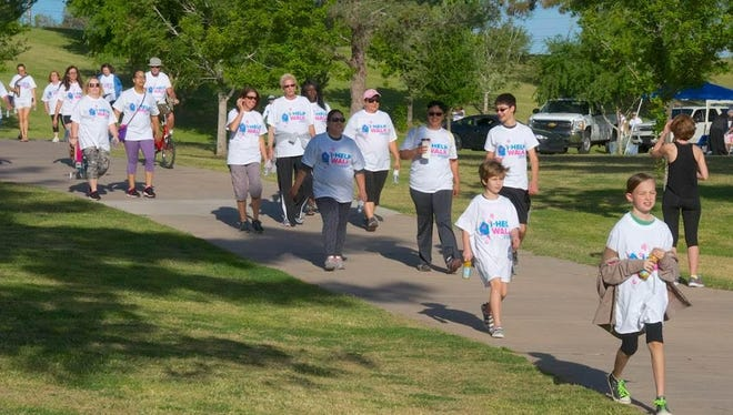 Last year's Walk for the Homeless raised $11,500 for I-HELP.