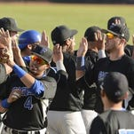 """Faulkner hopes to be giving """"high-fives"""" again Monday evening."""