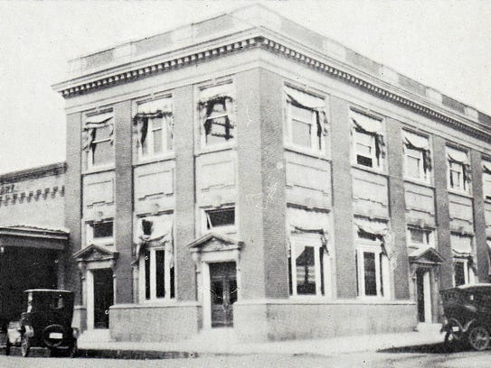 St. Landry Bank & Trust Company with A. Clary Store
