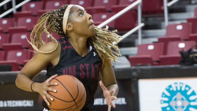 Zaire Williams and the New Mexico State women's basketball team was picked to win the Western Athletic Conference on Wednesday.