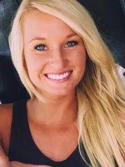 Evangel assistant coach Jenna Kreamer