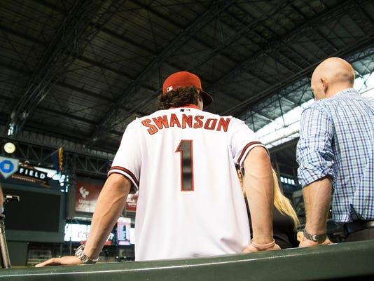 PNI Dbacks Swanson vists Chase Field
