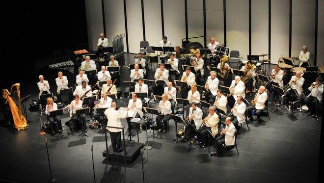 McCallum Theatre Concert Band. (Photos by Jack Hartin)