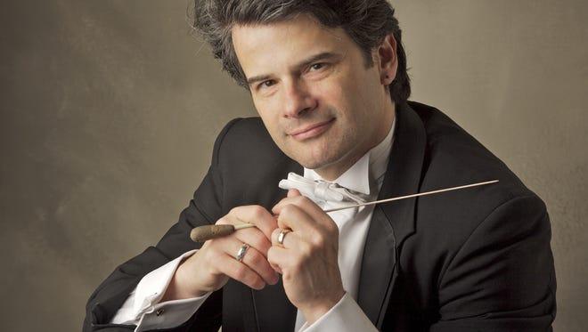 Hudson Valley Philharmonic Music Director Randall Craig Fleischer.
