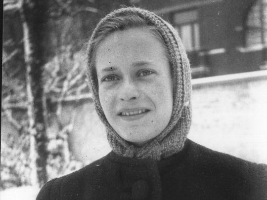Margo Grunewald spent the end of the war in the Belgian countryside, in hiding with a couple who were resistance sympathizers.