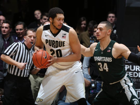 A.J. Hammons is part of one of the biggest frontcourts in the country.