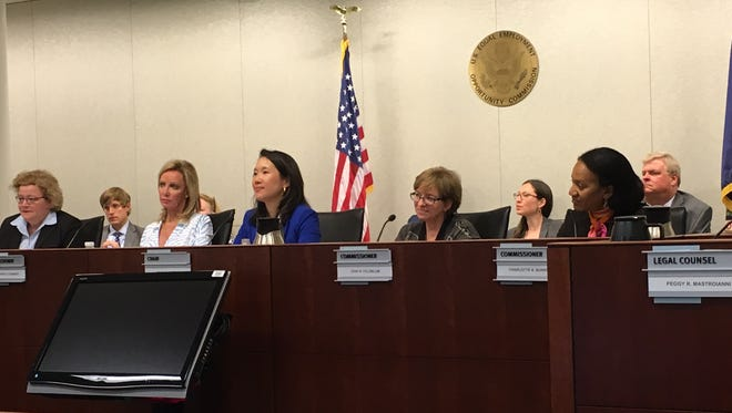 The Equal Employment Opportunity Commission during its May 18, 2016 hearing on diversity in the tech industry.