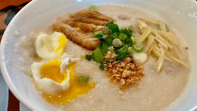Sunshine Cafe's congee stuck with our critic for all the right reasons.