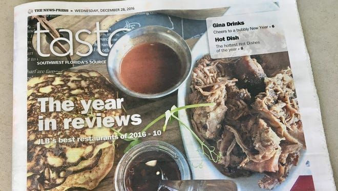 The final Taste of 2016 recaps the year's best food and dining stories in SWFL.