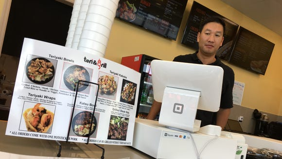 Co-owner Sam Hong opened Teri & Grill earlier this month in the Stratford Square Shopping Center on East Boulevard.