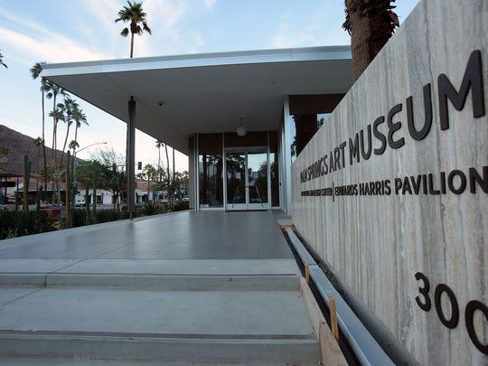 The Palm Springs Art Museum Architecture and Design Center, Edwards Harris Pavilion.