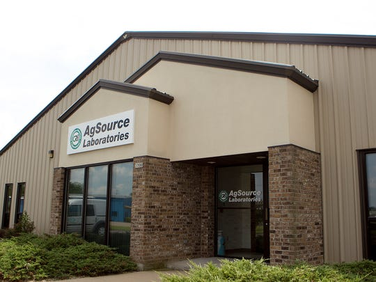 AgSource Laboratories moved to Downwind Drive in Marshfield, Wednesday, Aug. 6, 2014.