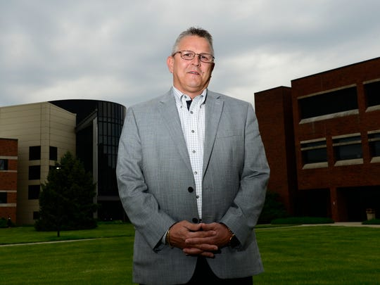 Ron Schumacher, interim president of Terra State Community