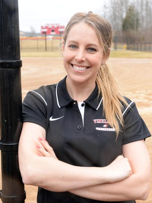 Kristina Kulik made her mark as a player and a coach with the Vineland High School softball program. On Thursday, she announced she was stepping down as head coach.