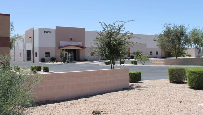 The building that will house Basic Metals Inc. in Goodyear.