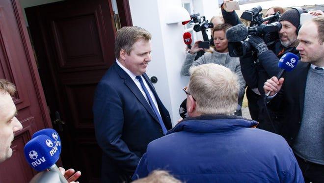 Iceland's former Prime Minister Sigmundur Gunnlaugsson.