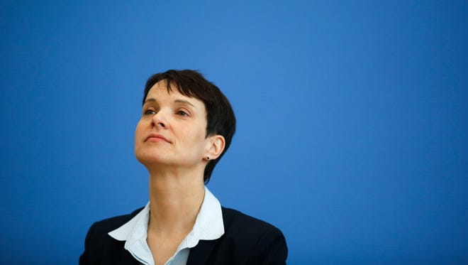 Frauke Petry, chairwoman of the Alternative for Germany party.