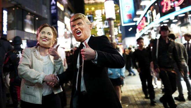 Halloween parade in Tokyo on Oct. 29, 2016.