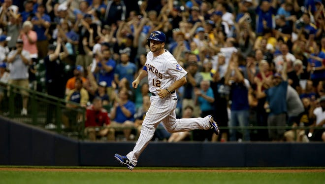 Stephen Vogt, who hit two homers in his Miller Park debut on Friday night, was the 16th waiver claim award to the Brewers since David Stearns took over as the team's general manager in October of 2015.