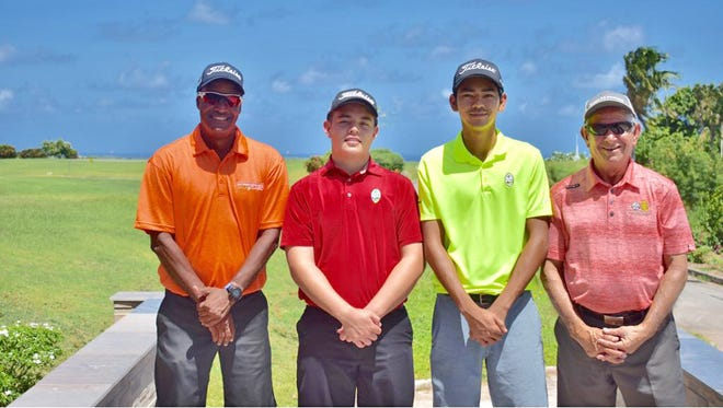 Guam's top amateurs are off to Malaysia for an ultra-competitive tournament featuring some of Asia's best amateurs. They are pictured, from left, Daryl Poe, Brentt Salas, Redge Camacho and Vic Borja.