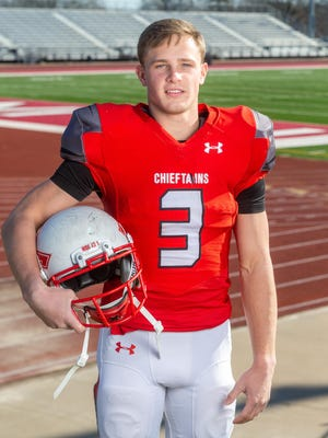 All-State FB 2020: Tyler Bowden, Tonganoxie